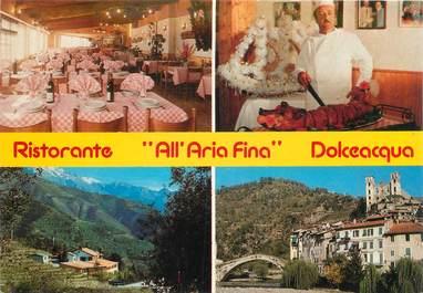 "CPSM ITALIE ""Dolceacqua, Restaurant All Azia Fina"""
