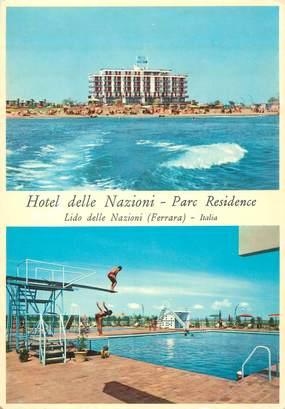 """CPSM ITALIE """"Ferrara, Lido Delle Nazioni, Hotel Delle Nazioni"""""""