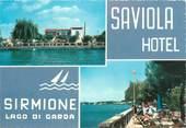 """Italie CPSM ITALIE """"Sirmione, Lac de Garde, Hotel Saviola"""""""
