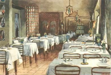 """CPSM ITALIE """"Turin, Restaurant Il Cuccolo"""""""