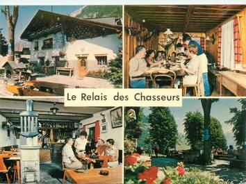 """CPSM SUISSE """"Chiboz, Restaurant Relais des Chasseurs"""""""