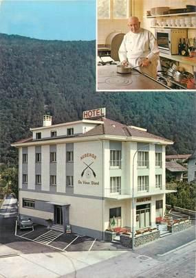 "CPSM SUISSE ""Martigny, Hotel restaurant du Vieux Stand"""