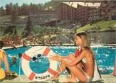 """Suisse CPSM SUISSE """"Anzère, la piscine"""""""