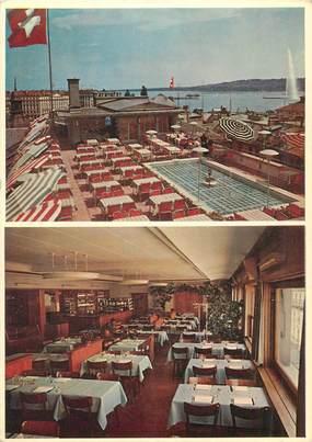 """CPSM SUISSE """"Genève, Restaurant La Rochelle"""""""