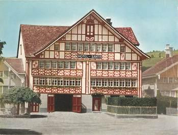 """CPSM SUISSE """"Appenzell, Hotel Säntis"""""""