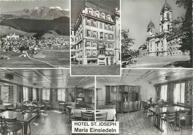 """CPSM SUISSE """"Einsiedeln, Hotel Saint Joseph"""""""