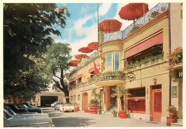 """CPSM SUISSE """"Auvernier, Hotel du Poisson"""""""