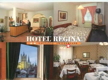 """CPSM SUISSE """"Lausanne, Hotel Régina"""""""