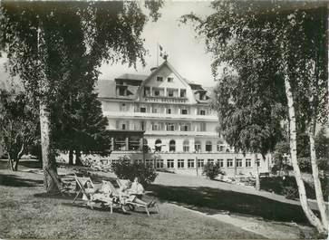 """CPSM SUISSE """"Spiez, Hotel Strandhotel Belvedere"""""""