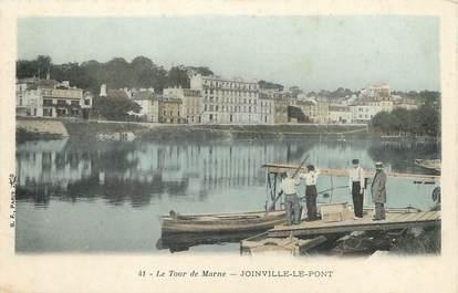 """/ CPA FRANCE 94 """"Joinville le Pont, le tour de Marne"""""""