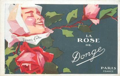 """CPA PARFUM """"La Rose de DONGE"""""""