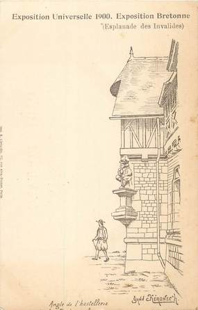 CPA EXPOSITION UNIVERSELLE 1900 / RARE SERIE BRETONNE