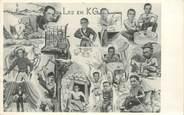 Militaire CARTE PHOTO PRISONNIERS GUERRE 1944