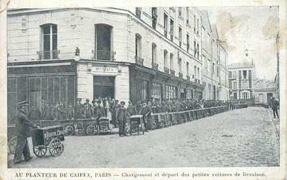 """CPA JUDAICA """"Paris, Au Planteur de aiffa, Masion COHEN"""""""