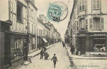 """/ CPA FRANCE 89 """" Sens, la rue de la république"""""""