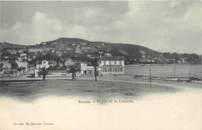 """CPA FRANCE 06 """"Cannes, la pointe de la Croisette"""" / CARTE PRECURSEUR"""