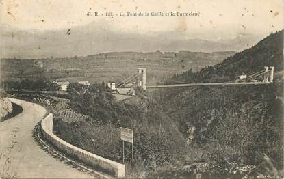 """CPA FRANCE 74 """"Pont de la Caille"""""""