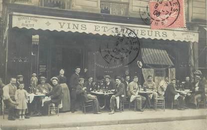 """CARTE PHOTO PARIS CAFÉ / RESTAURANT """"Restaurant A la Coupelle Saint Benoit"""""""