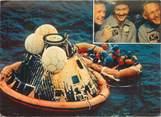 """Theme CPSM ASTRONOMIE / ESPACE """"Conquête de la lune par Apollo XI, 1969"""""""