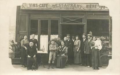 CARTE PHOTO PARIS / RESTAURANT