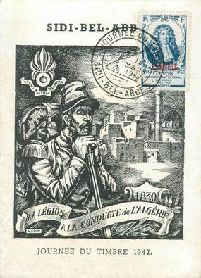 CPSM LEGION / ALGERIE