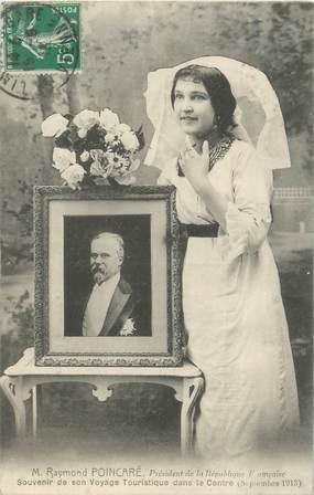 """CPA FRANCE 87 """"Raymond POINCARÉ 1913"""""""