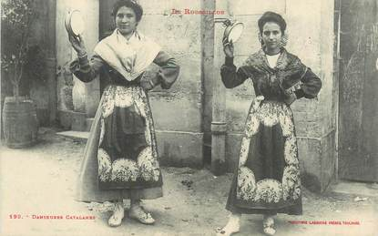 "CPA FRANCE 66 ""Danseuses catalanes"""