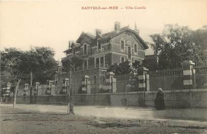 "/ CPA FRANCE 66 ""Banyuls sur Mer, villa Camille"""