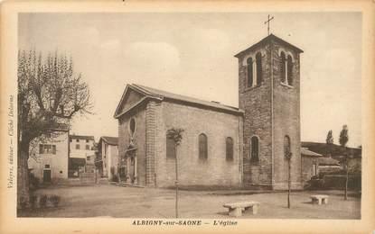 """CPA FRANCE 69 """"Albigny sur Saone"""""""