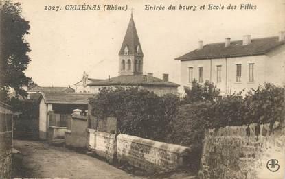 """CPA FRANCE 69 """"Orliénas, entrée du bourg"""""""