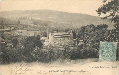 "CPA FRANCE 69 ""Saint Igny de Vers, usine"""