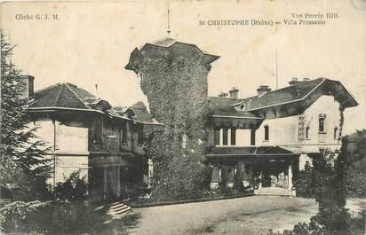 "CPA FRANCE 69 ""Saint Christophe, villa Pressavin"""