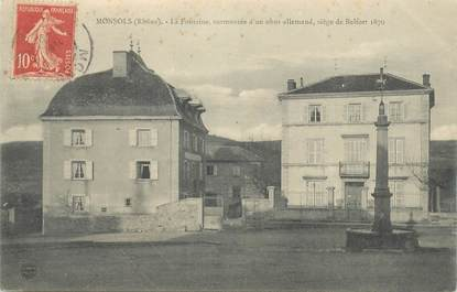 "CPA FRANCE 69 ""Monsols, la Fontaine"""