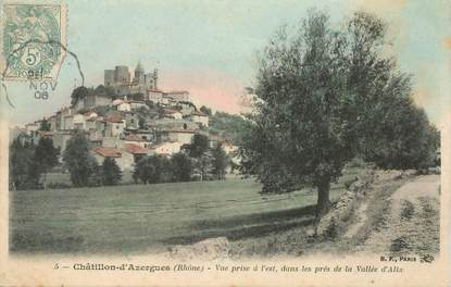 "CPA FRANCE 69 ""Châtillon d'Azergues"""