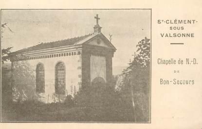 """CPA FRANCE 69 """"Saint Clément sous Valsonne"""""""
