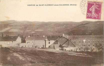 """CPA FRANCE 69 """"Saint Clément sous Valsonne, l'Hospice"""""""