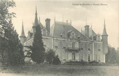 """CPA FRANCE 69 """"Chateau de Montellus à Dareizé"""""""