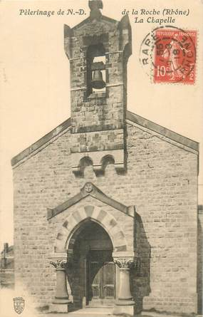 """CPA FRANCE 69 """"Pèlerinage de ND de la Roche"""""""