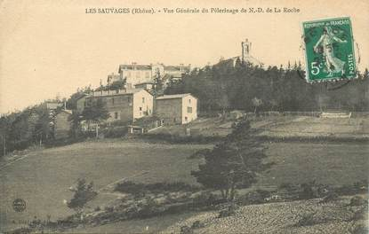 """CPA FRANCE 69 """"Les Sauvages"""""""