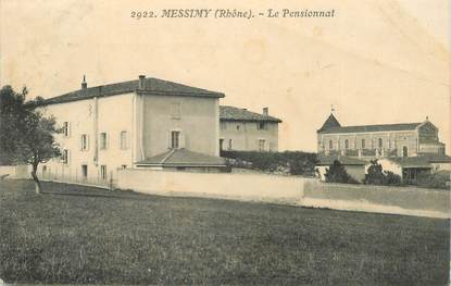 """CPA FRANCE 69 """"Messimy, le pensionnat"""""""