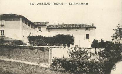 "CPA FRANCE 69 ""Messimy, le pensionnat"""