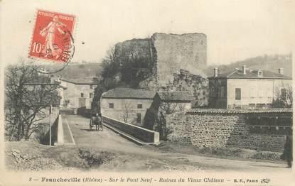 """CPA FRANCE 69 """"Francheville, ruines du vieux chateau"""""""