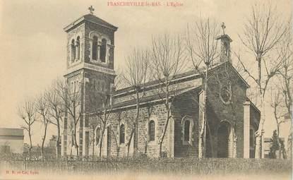 """CPA FRANCE 69 """"Francheville le Bas, l'Eglise"""""""