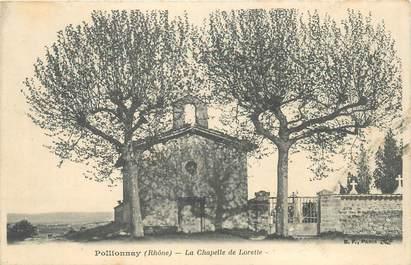 """CPA FRANCE 69 """"Pollionnay, la Chapelle de Lorette"""""""