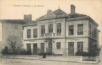 "CPA FRANCE 69 ""Irigny, la mairie"""