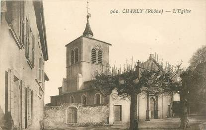 "CPA FRANCE 69 ""Charly, l'Eglise"""