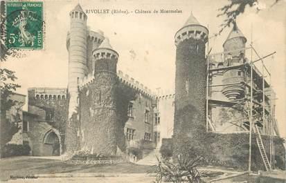 """CPA FRANCE 69 """"Rivollet, chateau de Montmelas"""""""