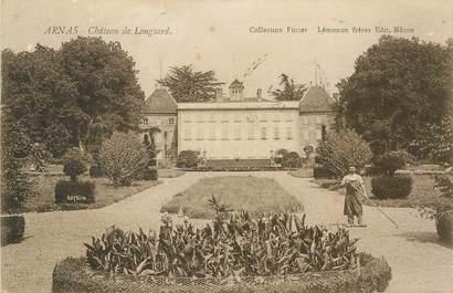 "CPA FRANCE 69 ""Arnas, chateau de Longsard"""