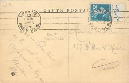 MARCOPHILIE FRANCE / BANDE PUBLICITAIRE sur CPA 94 Nogent sur Marne