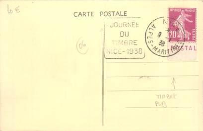 MARCOPHILIE FRANCE / BANDE PUBLICITAIRE sur CPA 06 Nice